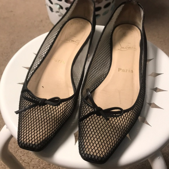 7041e7b95fc Christian Louboutin Shoes - Christian Louboutin ballet flats size 39 1 2